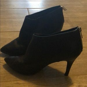 854c4b38287bd Black booties with zip-up (or slide on) feature.  10  49. Size  8 · New York    Company